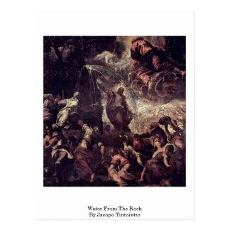 Agua de la roca de Jacopo Tintoretto Postales