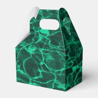 Agua de ondulación ondulada del fuego del cajas para regalos