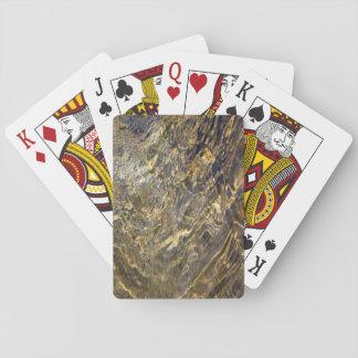 Agua de oro 2 de la fuente barajas de cartas