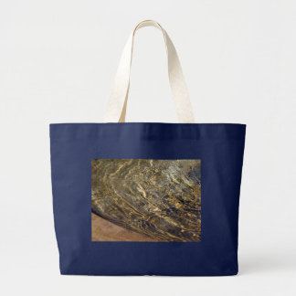 Agua de oro 2 de la fuente bolsa de tela grande