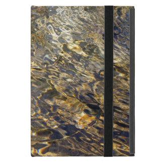 Agua de oro 2 de la fuente iPad mini protectores