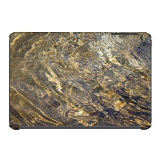 Agua de oro 2 de la fuente funda para iPad mini