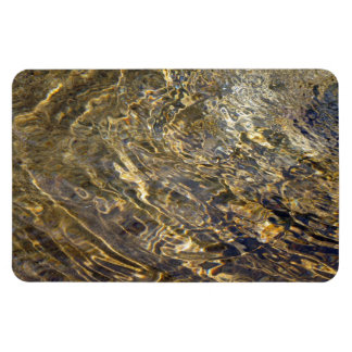 Agua de oro 2 de la fuente imán rectangular