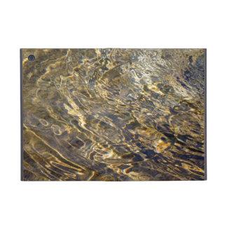 Agua de oro 2 de la fuente iPad mini funda