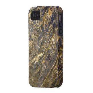 Agua de oro 2 de la fuente iPhone 4/4S carcasa