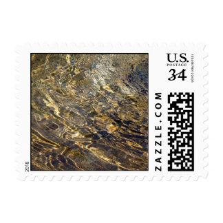 Agua de oro 2 de la fuente - pequeño sello