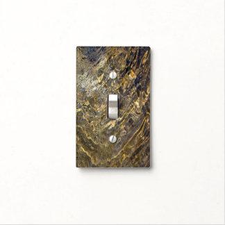 Agua de oro 2 de la fuente placas para interruptor