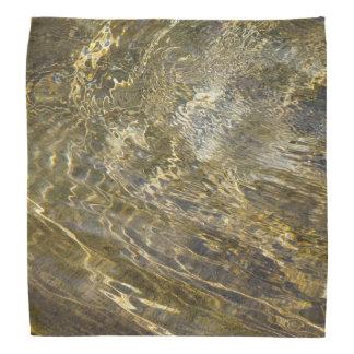 Agua de oro de la fuente bandanas