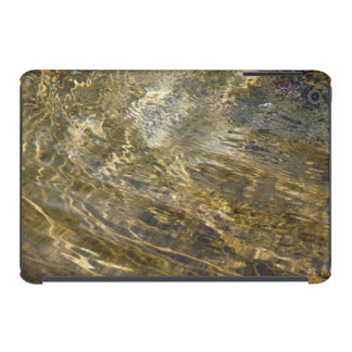 Agua de oro de la fuente funda de iPad mini