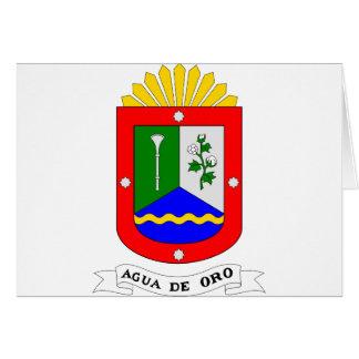 Agua de Oro, la Argentina Tarjetas