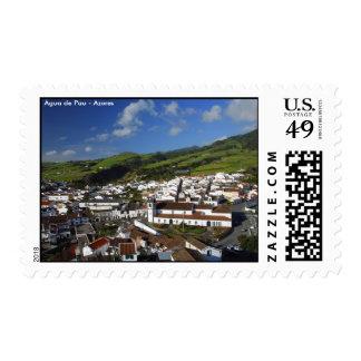 Agua de Pau - Azores Postage