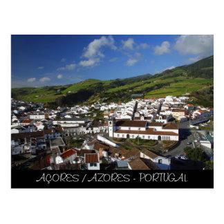 Agua de Pau - Azores Postcard