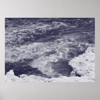 Agua de precipitación póster