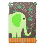 Agua de rociadura del elefante lindo iPad mini cárcasas