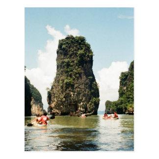 Agua de Tailandia Tarjeta Postal