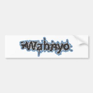 Agua de Wahnyo Pegatina Para Auto