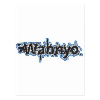 Agua de Wahnyo Postal