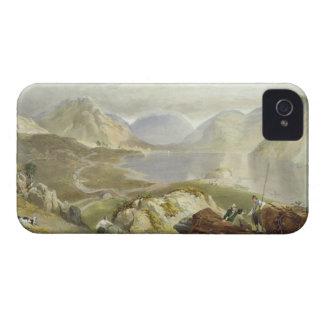 """Agua de Wast, """"del distrito inglés del lago"""", 1853 iPhone 4 Case-Mate Carcasa"""