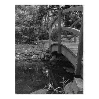 Agua debajo del puente tarjeta postal