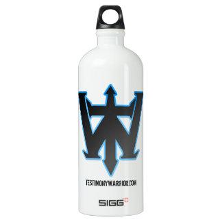 agua del logotipo de TestimonyWarrior.com