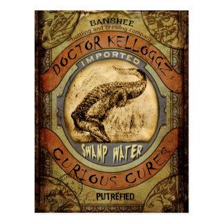 Agua del pantano tarjetas postales
