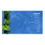 Agua e hierba - negocio plantillas de tarjetas personales