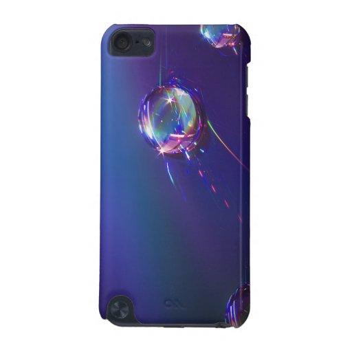 Agua en el caso abstracto plástico del tacto de iP Funda Para iPod Touch 5G