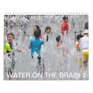 Agua en el cerebro 2 calendarios de pared