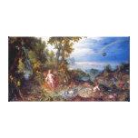 Agua, en enero Brueghel la anciano Lona Estirada Galerías