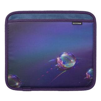 Agua en la funda abstracta plástica del iPad Fundas Para iPads