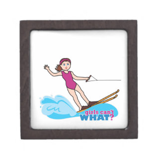 Agua-Esquiador-Chica 1 Cajas De Recuerdo De Calidad