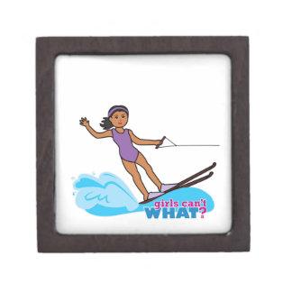 Agua-Esquiador-Chica 3 Caja De Joyas De Calidad
