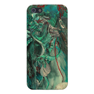 """Agua"" Fantasy Art iPhone 5 Case by AK Westerman"