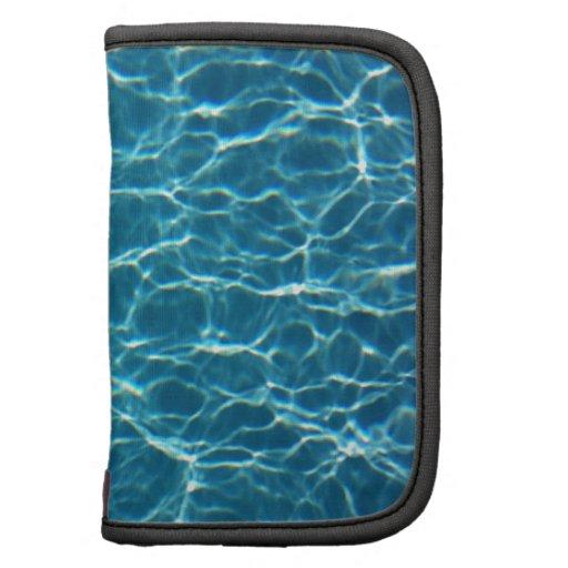 Agua fresca de la piscina planificadores