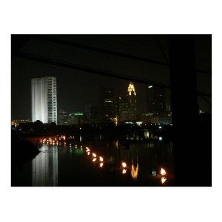 Agua/fuego, postal de Columbus, Ohio