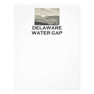 "Agua Gap de ABH Delaware Folleto 8.5"" X 11"""