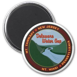 Agua Gap - imán de Delaware