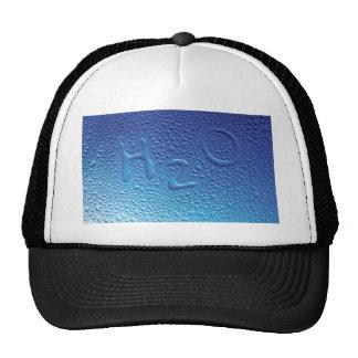 Agua H2O azul