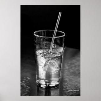 Agua helada impresiones