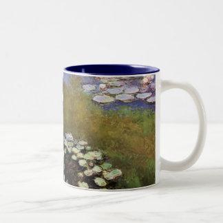 Agua-Lillies: 1914-17 de Monet Taza De Café