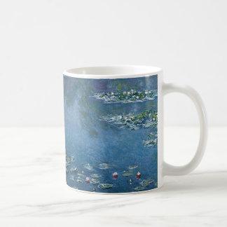 Agua Lillies de Claude Monet Taza