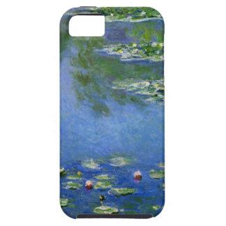 Agua Lillies de Monet iPhone 5 Carcasas