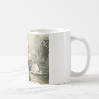 Agua Lillies Taza De Café