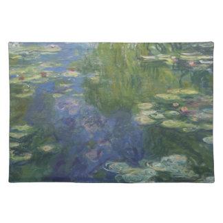 Agua Lilly Placemat de Monet Manteles Individuales