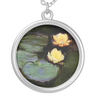 Agua-Lirios: 1897-98 de Monet Colgante Redondo