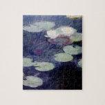 Agua-Lirios rosados: 1897-99 de Monet Rompecabezas Con Fotos