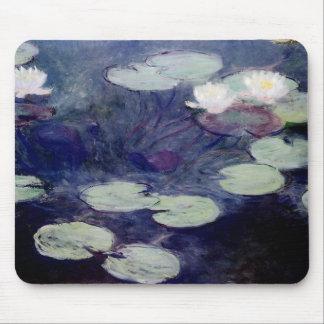 Agua-Lirios rosados: 1897-99 de Monet Tapetes De Raton