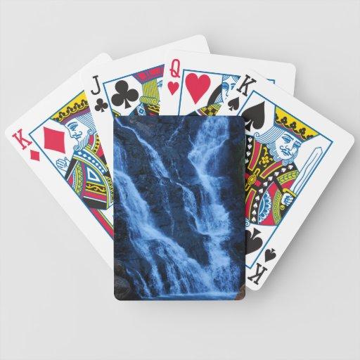 Agua más muy que el oro baraja cartas de poker