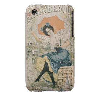 Agua mineral natural f de Brault de la publicidad Case-Mate iPhone 3 Protector