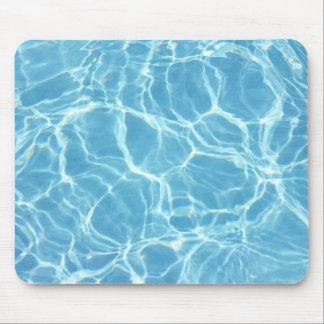 Agua Mousepad de la piscina Tapetes De Ratones